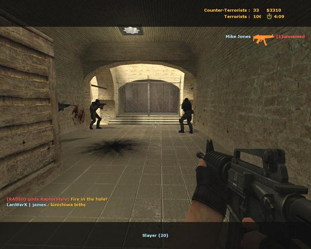 Counter-Strike Source (2011) PC v75, автообновление игры.